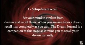 Lucid Dreaming and Self Realization